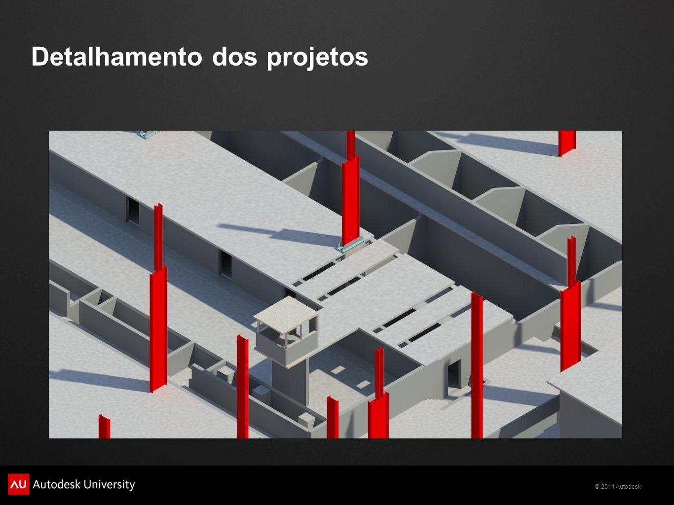 Detalhamento dos projetos