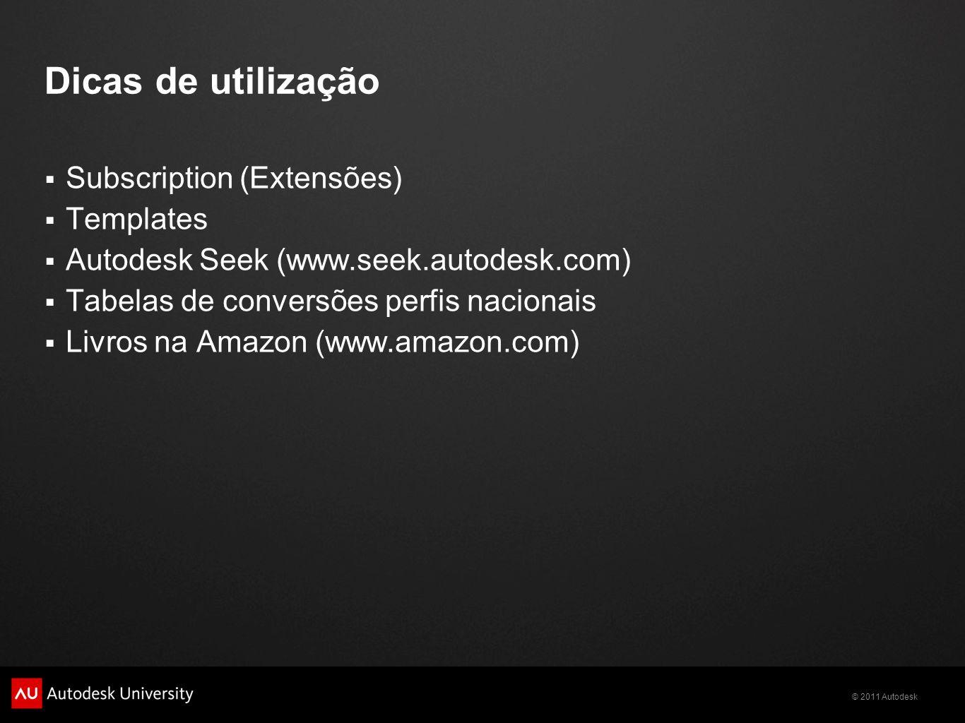 Dicas de utilização Subscription (Extensões) Templates