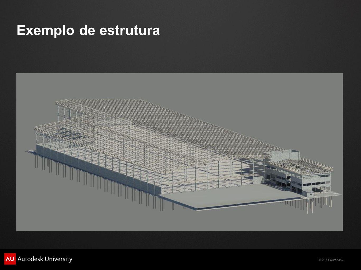 Exemplo de estrutura