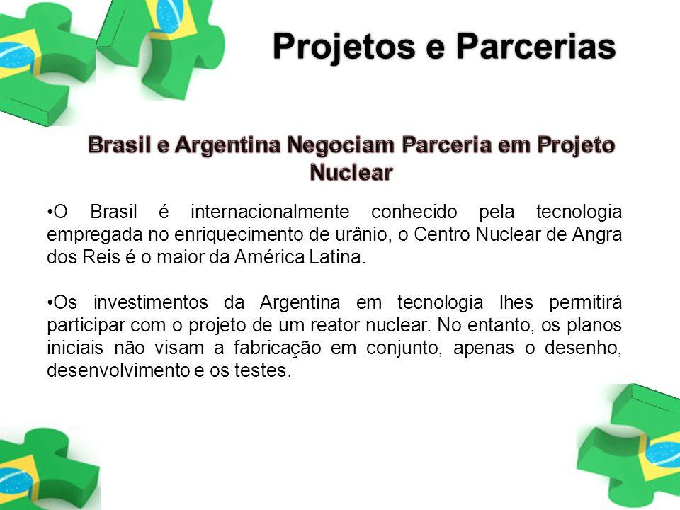 Brasil e Argentina Negociam Parceria em Projeto Nuclear