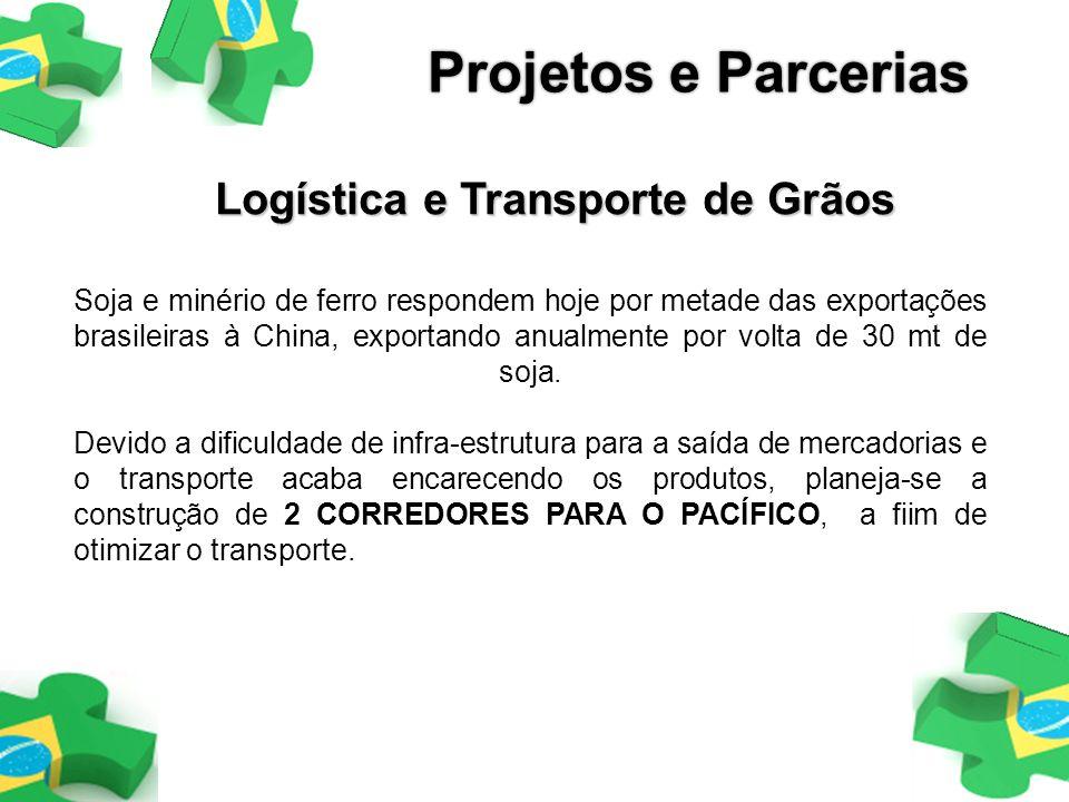 Logística e Transporte de Grãos