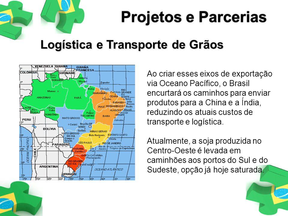 Projetos e Parcerias Logística e Transporte de Grãos