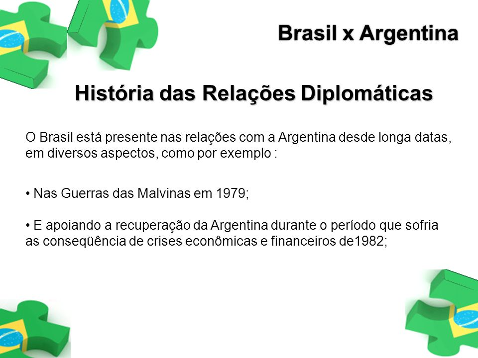 História das Relações Diplomáticas