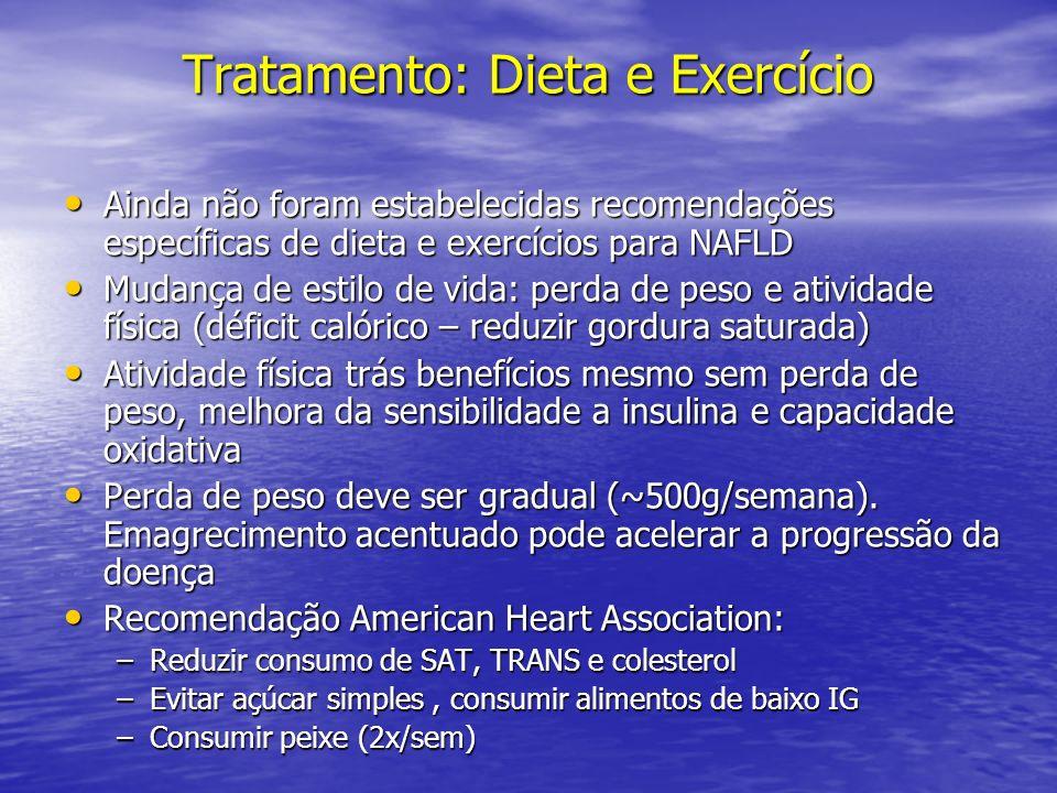 Tratamento: Dieta e Exercício