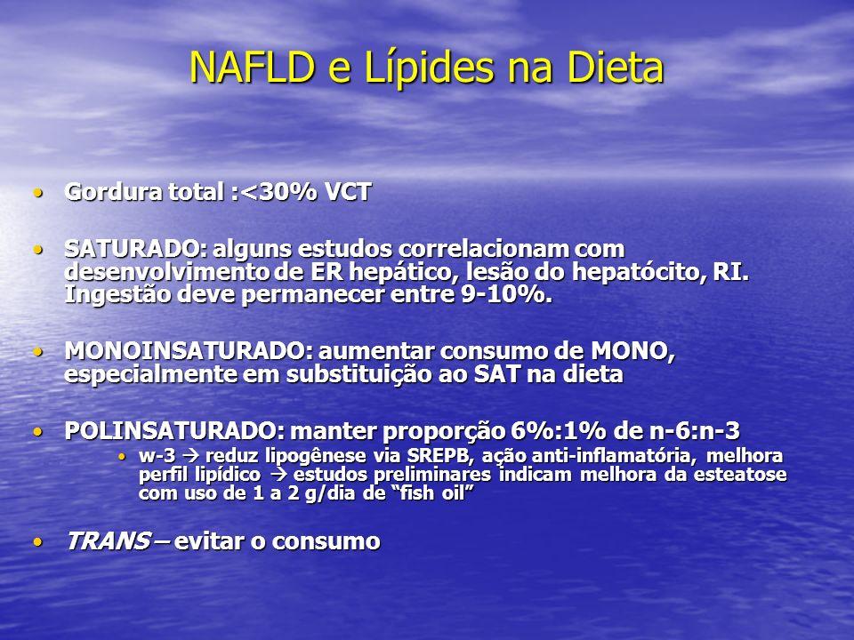 NAFLD e Lípides na Dieta