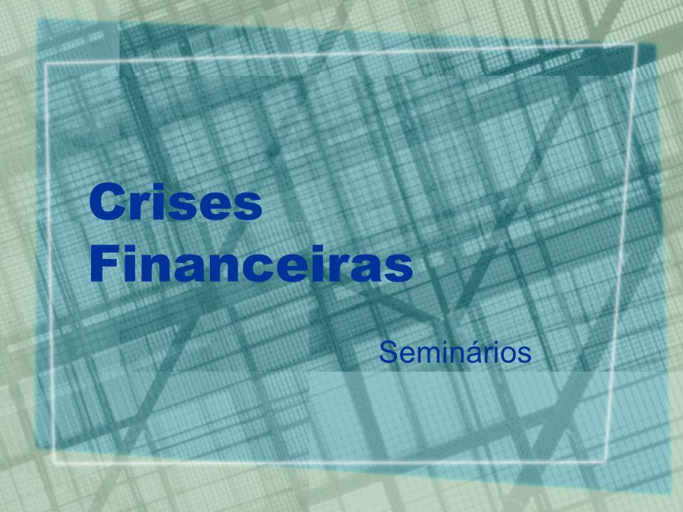 Crises Financeiras Seminários