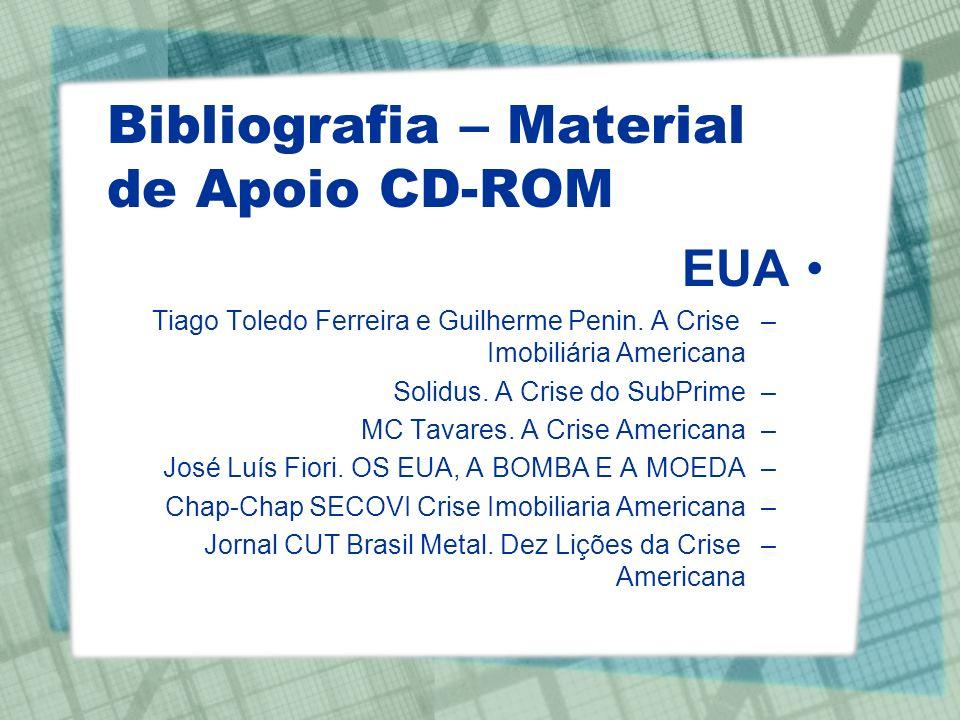 Bibliografia – Material de Apoio CD-ROM