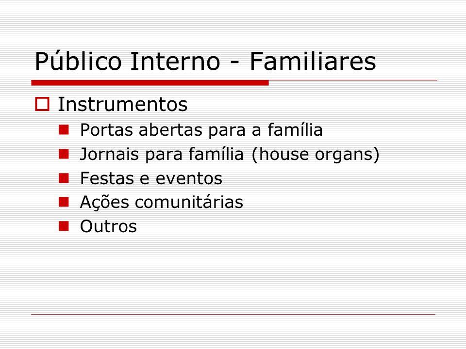 Público Interno - Familiares