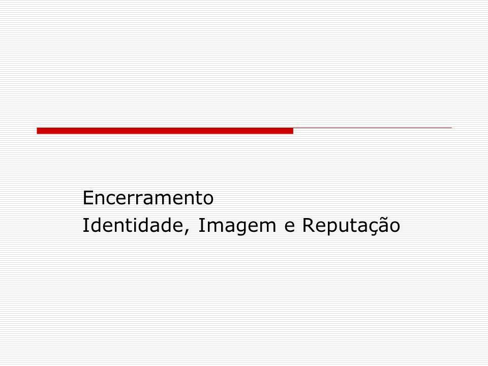 Encerramento Identidade, Imagem e Reputação