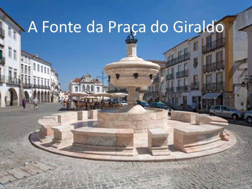 A Fonte da Praça do Giraldo