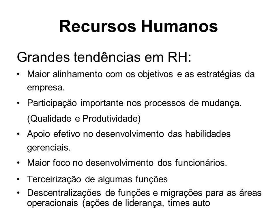 Recursos Humanos Grandes tendências em RH: