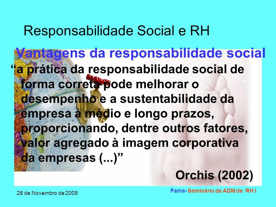 Vantagens da responsabilidade social