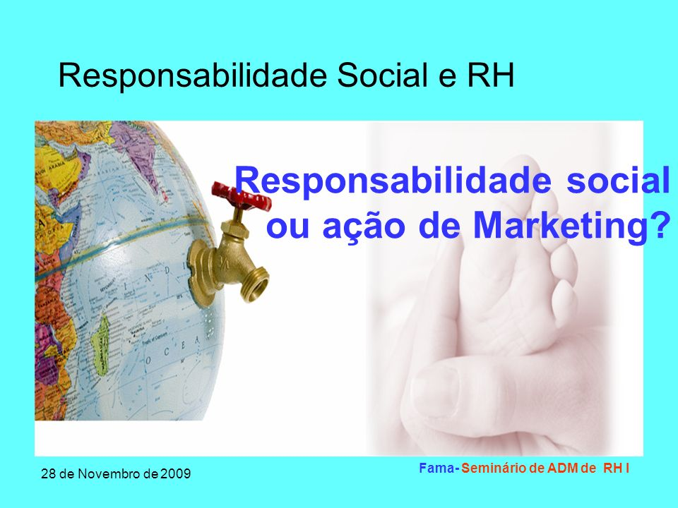 Responsabilidade social ou ação de Marketing