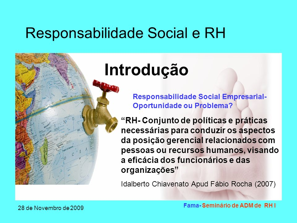 Fama- Seminário de ADM de RH I