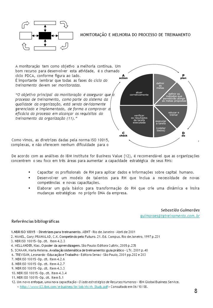 8 MONITORAÇÃO E MELHORIA DO PROCESSO DE TREINAMENTO