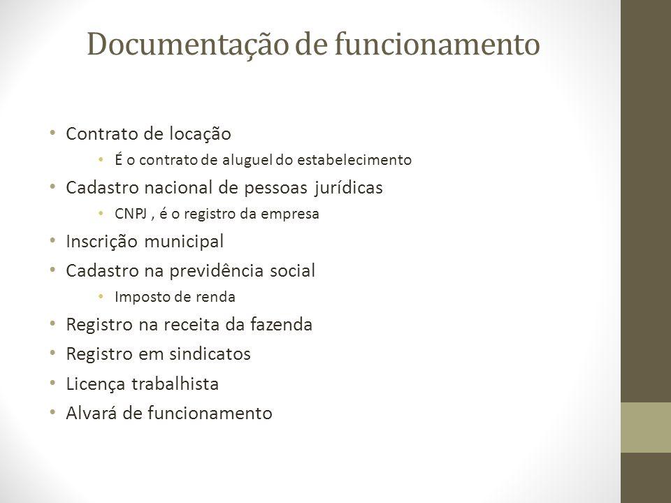 Documentação de funcionamento