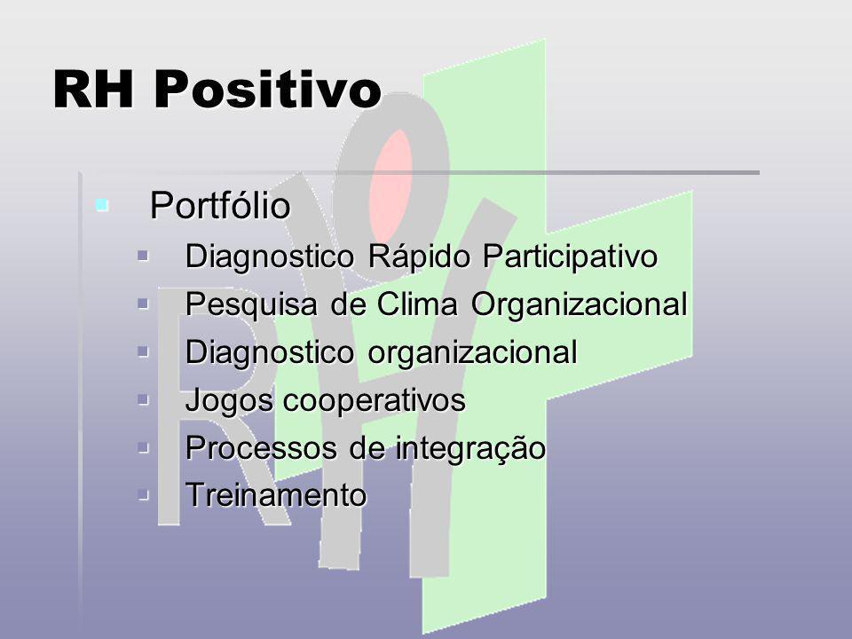 RH Positivo Portfólio Diagnostico Rápido Participativo
