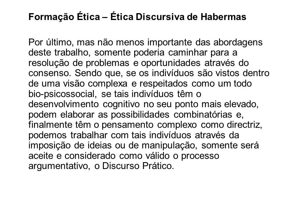 Formação Ética – Ética Discursiva de Habermas