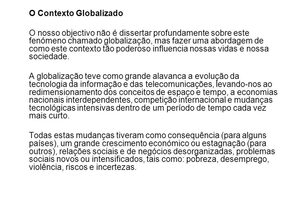 O Contexto Globalizado