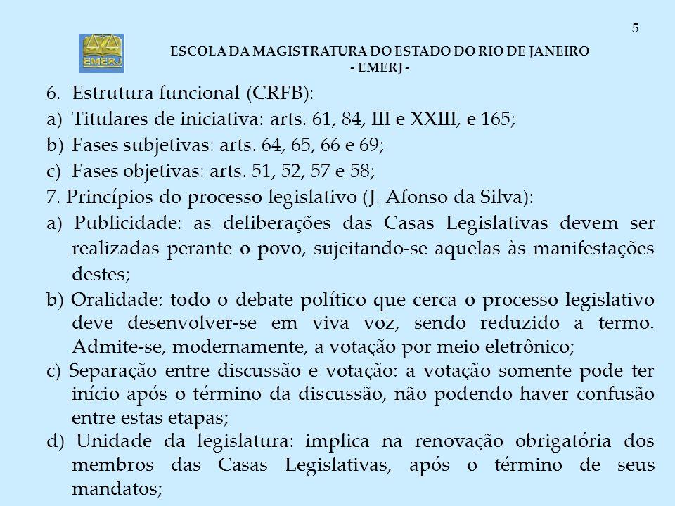 6. Estrutura funcional (CRFB):