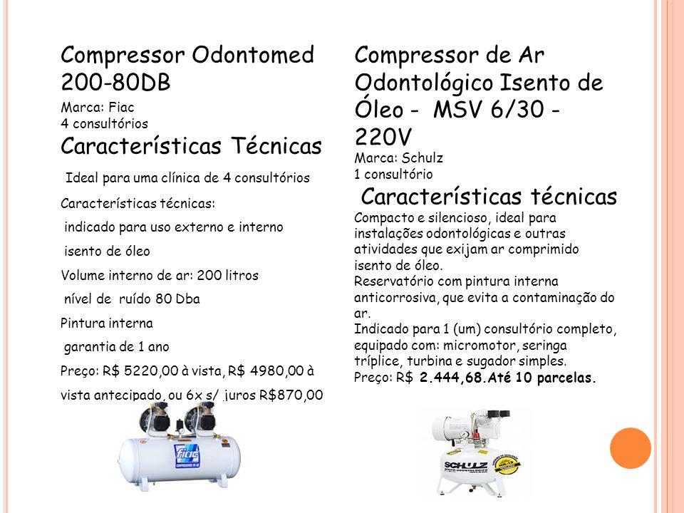 Compressor Odontomed 200-80DB
