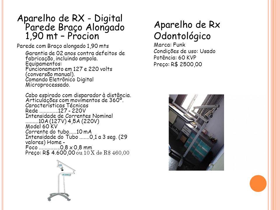 Aparelho de RX - Digital Parede Braço Alongado 1,90 mt – Procion