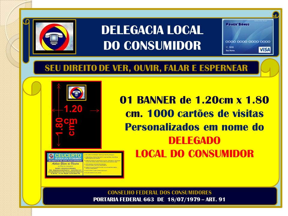DELEGACIA LOCAL DO CONSUMIDOR