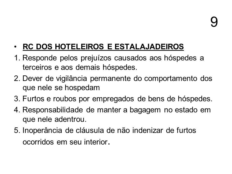 9 RC DOS HOTELEIROS E ESTALAJADEIROS