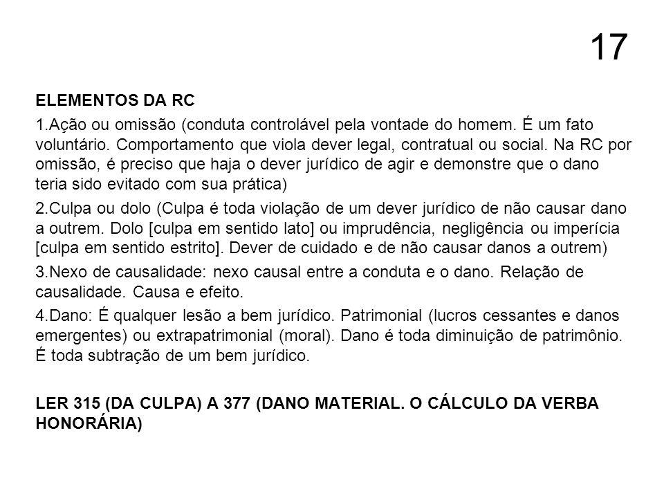 17 ELEMENTOS DA RC.