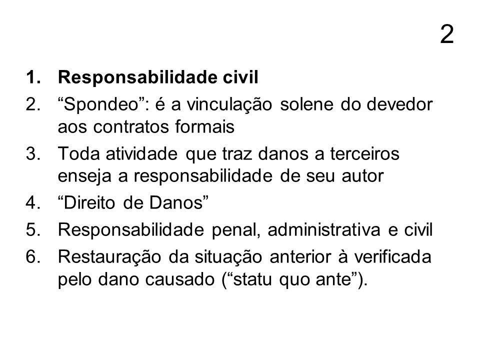 2 Responsabilidade civil
