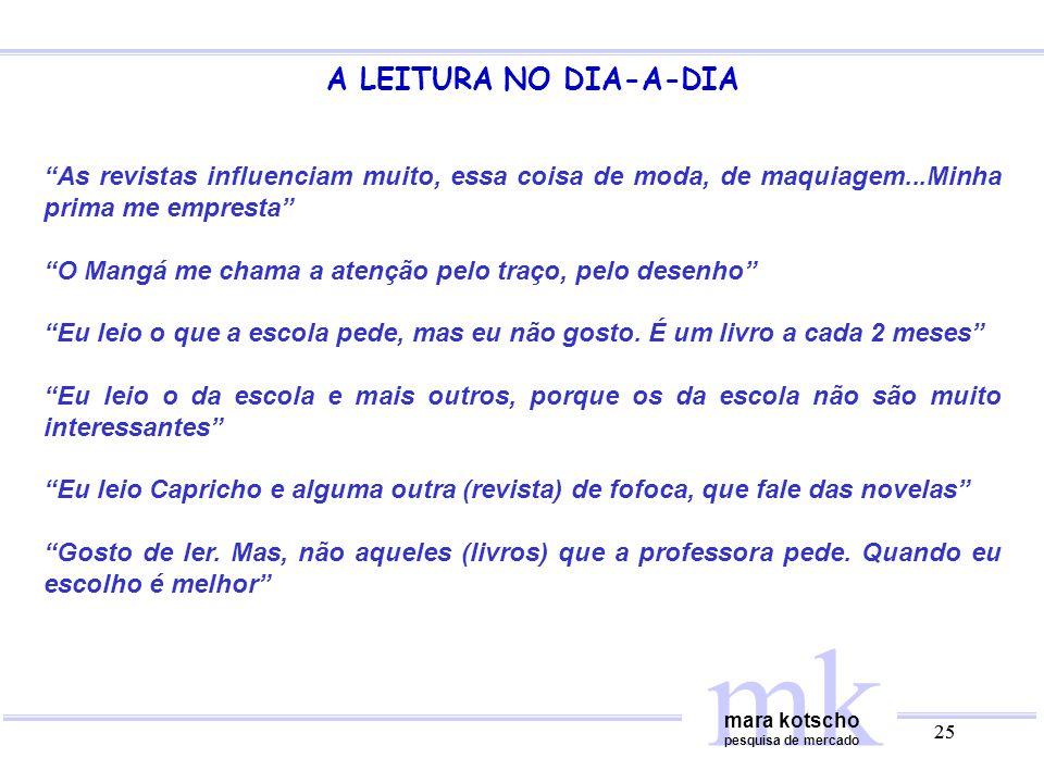 mk A LEITURA NO DIA-A-DIA