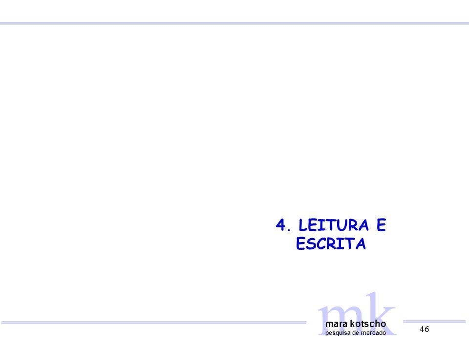 4. LEITURA E ESCRITA mk mara kotscho pesquisa de mercado 46