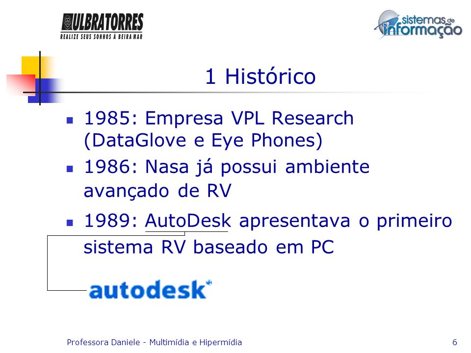 1 Histórico 1985: Empresa VPL Research (DataGlove e Eye Phones)