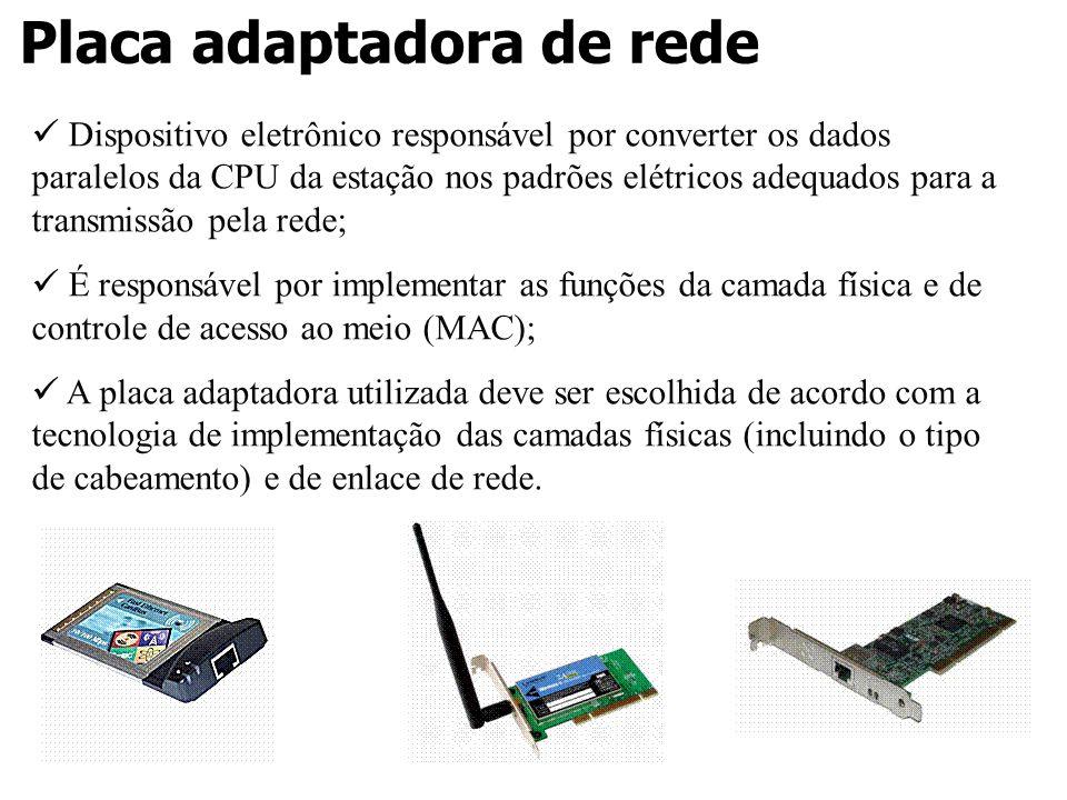 Placa adaptadora de rede