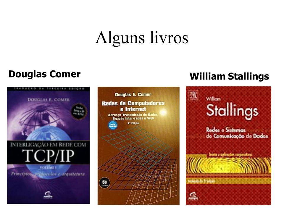 Alguns livros Douglas Comer William Stallings