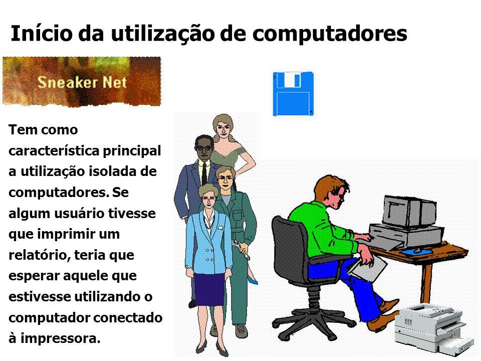 Início da utilização de computadores