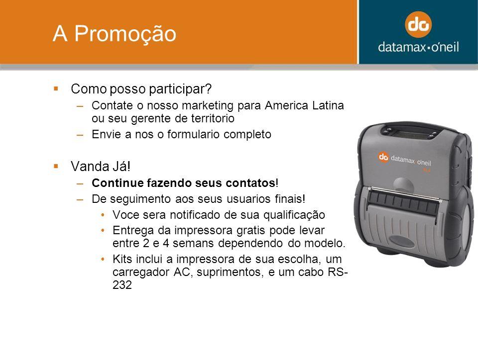 A Promoção Como posso participar Vanda Já!