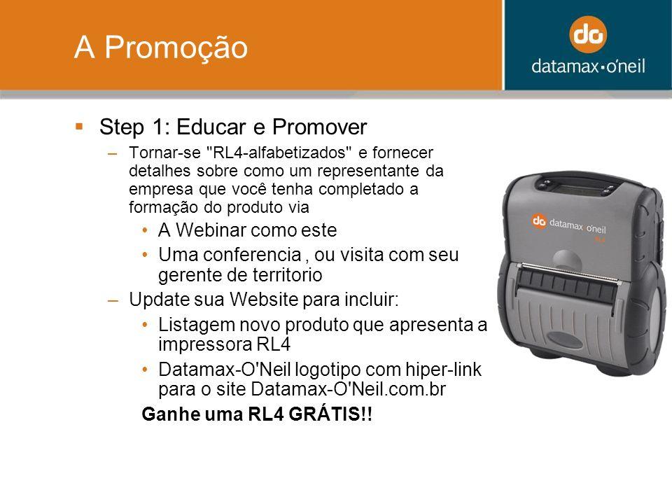 A Promoção Step 1: Educar e Promover A Webinar como este