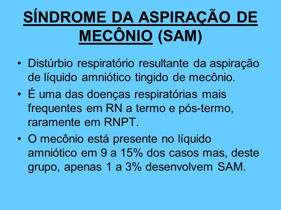 SÍNDROME DA ASPIRAÇÃO DE MECÔNIO (SAM)