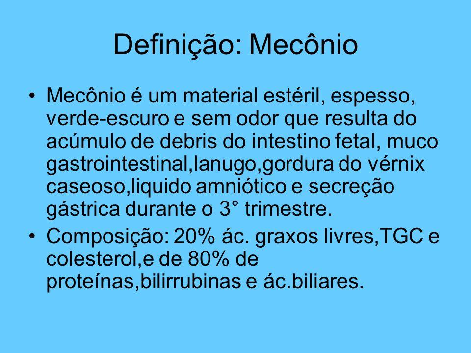 Definição: Mecônio
