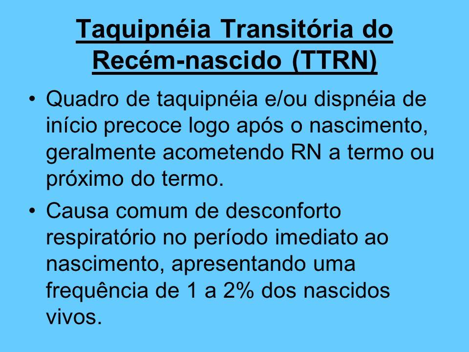 Taquipnéia Transitória do Recém-nascido (TTRN)