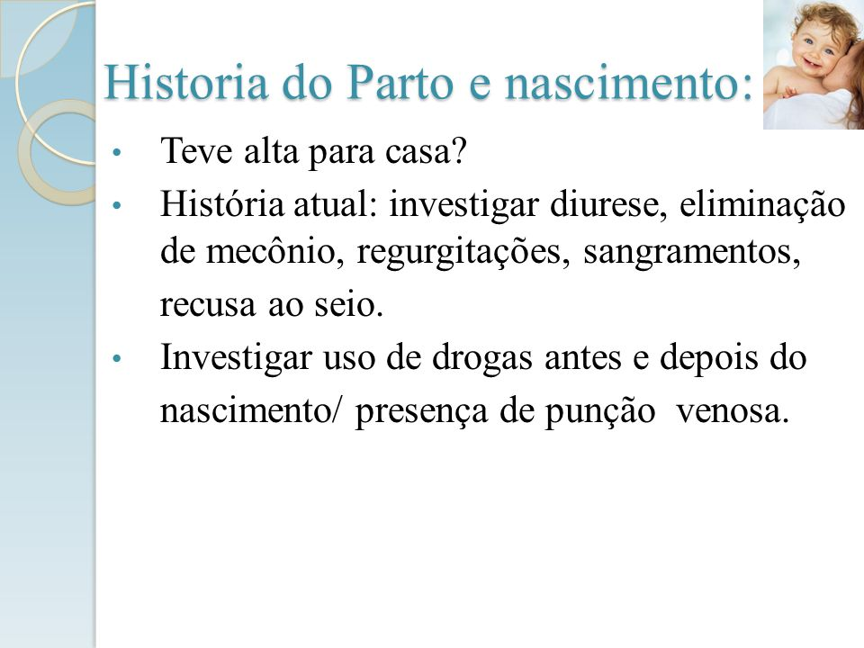 Historia do Parto e nascimento: