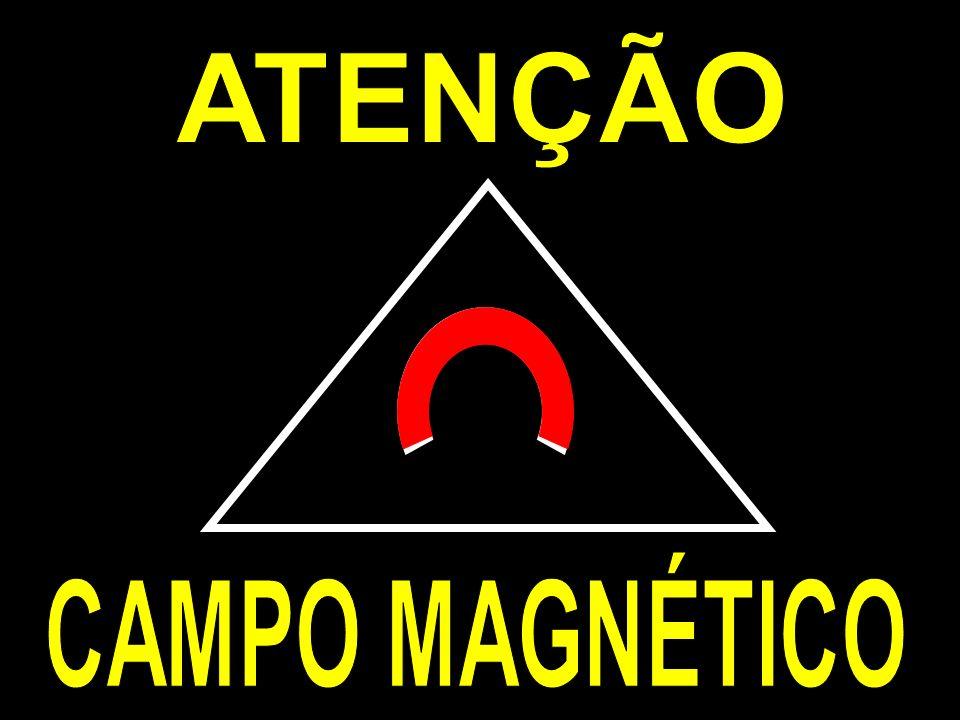 ATENÇÃO CAMPO MAGNÉTICO