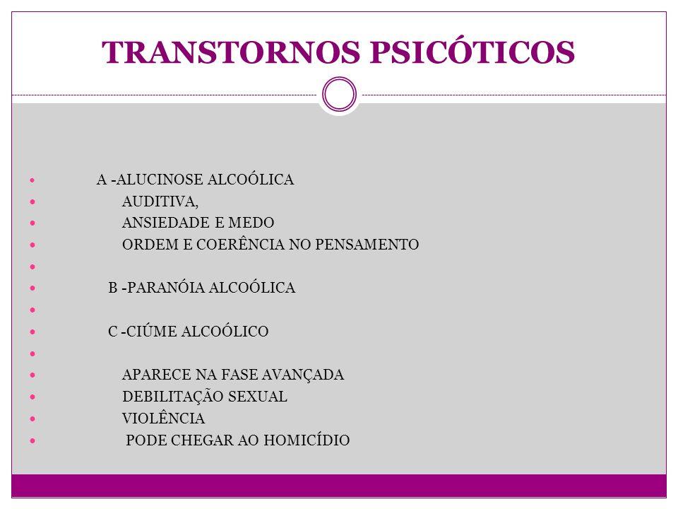 TRANSTORNOS PSICÓTICOS