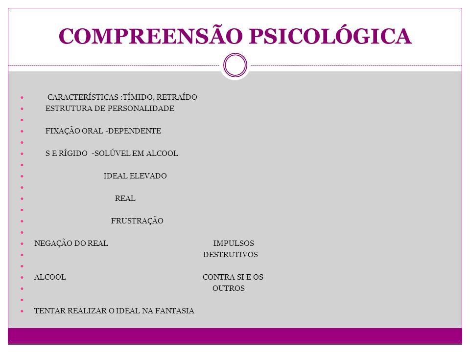 COMPREENSÃO PSICOLÓGICA