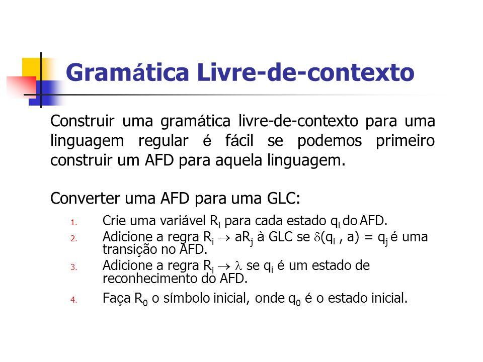 Gramática Livre-de-contexto