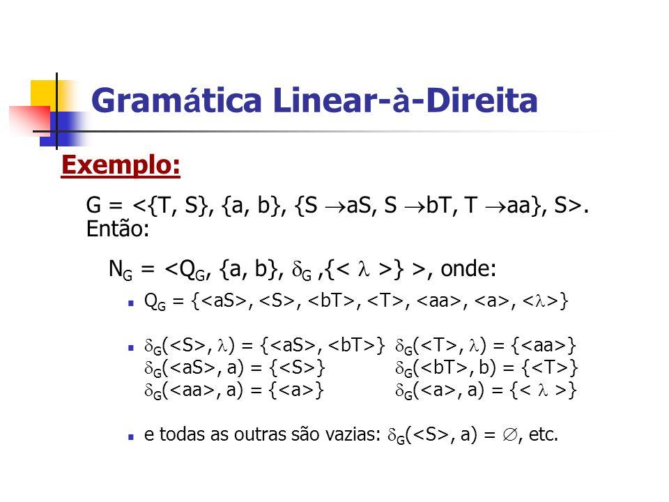 Gramática Linear-à-Direita