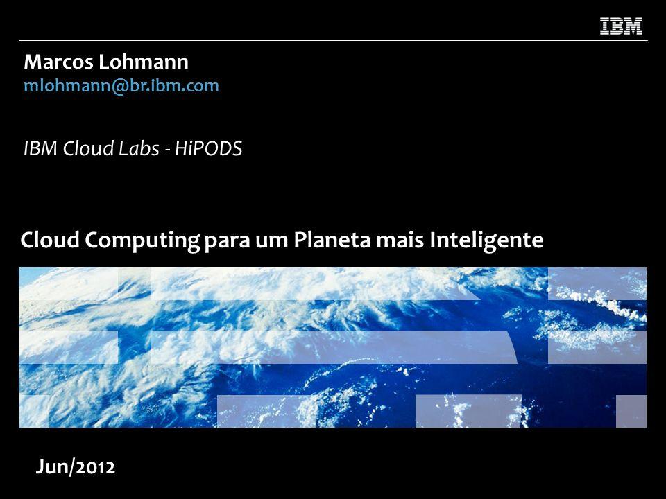 Cloud Computing para um Planeta mais Inteligente