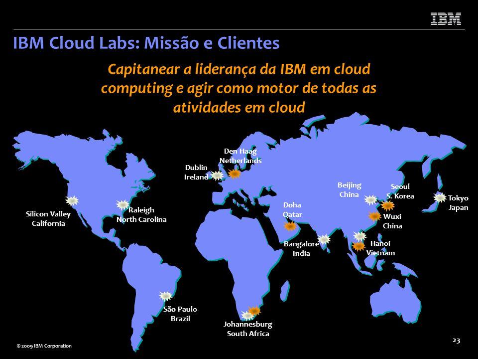 IBM Cloud Labs: Missão e Clientes