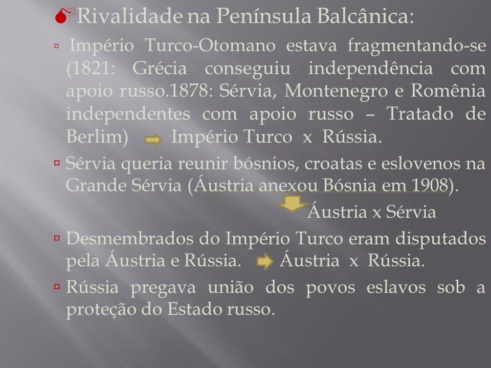 Rivalidade na Península Balcânica: